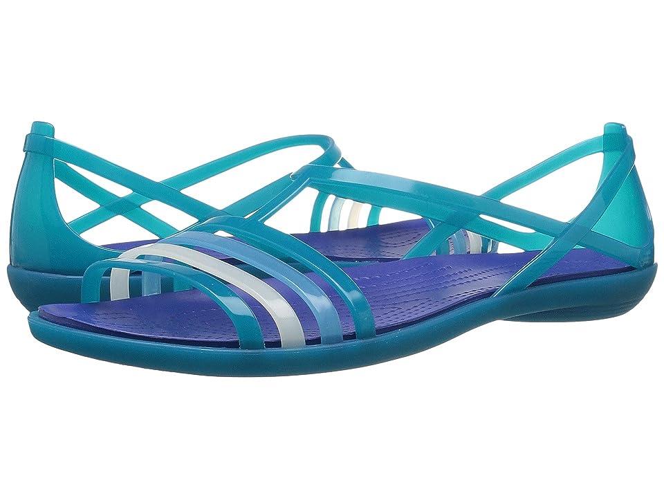 Crocs Isabella Sandal (Turquoise/Cerulean Blue) Women