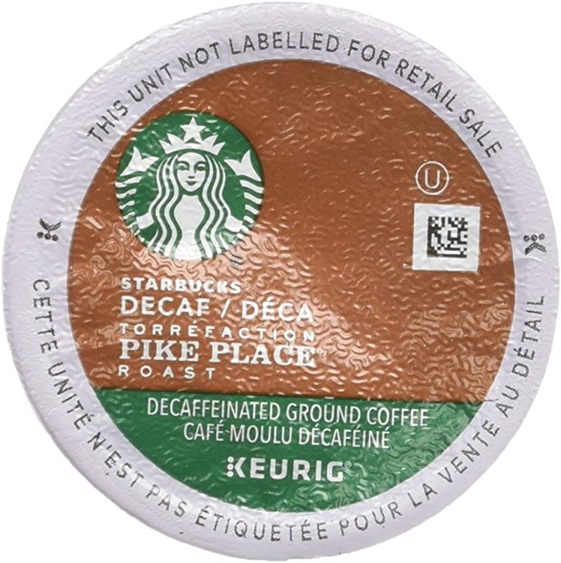 Starbucks Decaf Pike Place Roast K Cups 96 Count