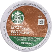 Starbucks Decaf Pike Place Roast, K-Cup for Keurig Brewers, 96 Count