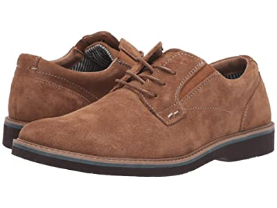 Nunn Bush Barklay Plain Toe Oxford (Camel) Men