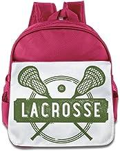 jxmd Custom Cool Lacrosse deporte niños y niñas escuela bolsa para 1–6años old azul eléctrico