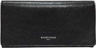 [バレンシアガ] BALENCIAGA 財布 メンズ レディース 二つ折長財布 542008 CU50N 1000 レザー ブラック [並行輸入品]