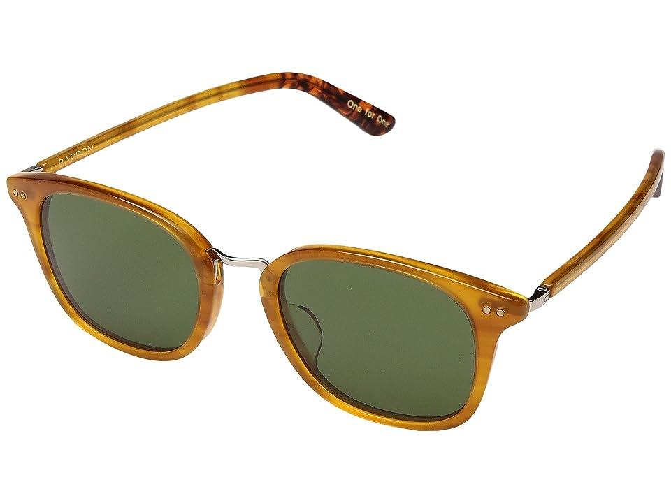 Retro Sunglasses | Vintage Glasses | New Vintage Eyeglasses TOMS Barron Honey Fashion Sunglasses $149.00 AT vintagedancer.com