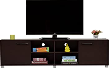 DeckUp Uniti TV Stand and Home Entertainment Unit (Dark Wenge, Matte Finish)