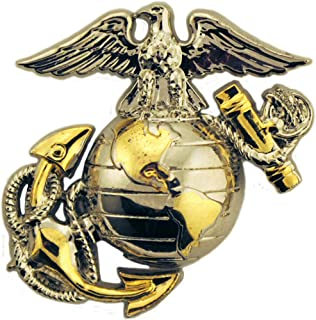 United States Marine Corps 1st Battalion 4th Marine Division 1.125 Lapel Pin