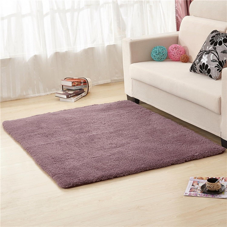 Doormats Kitchen Bathroom Water-Absorption Anti-Skid mat Bedroom Blanket for Bedroom -A 100x200cm(39x79inch)
