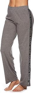 bebe Womens Casual Pajama Pants Wide Leg Loose Elastic Waist PJ Bottoms