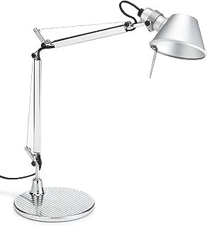 Artemide Tolomeo Micro E14 Aluminio lámpara de mesa - Lámparas de mesa (Aluminio, Aluminio, IP20, E14, 1 bombilla(s), 46 W)