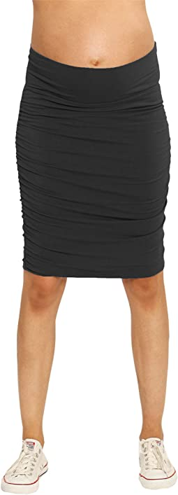 Maternity Fitted Skirt