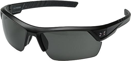 Freedom ANSI Satin Black/Charcoal Gray Frame/Gray Lens