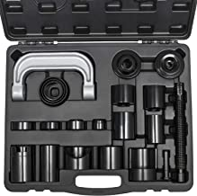 21PCs Heavy Duty Master Ball Joint Press U-joint Puller Remover Auto Servive Adapter Tool Kit For 2WD/ 4WD Vehicles