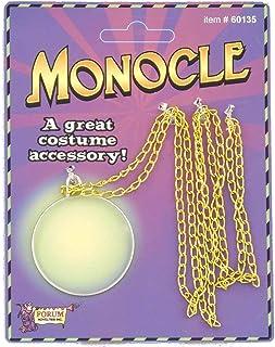 Steampunk Gear Monocle Victorian Industrial Aristocrat Costume Accessory