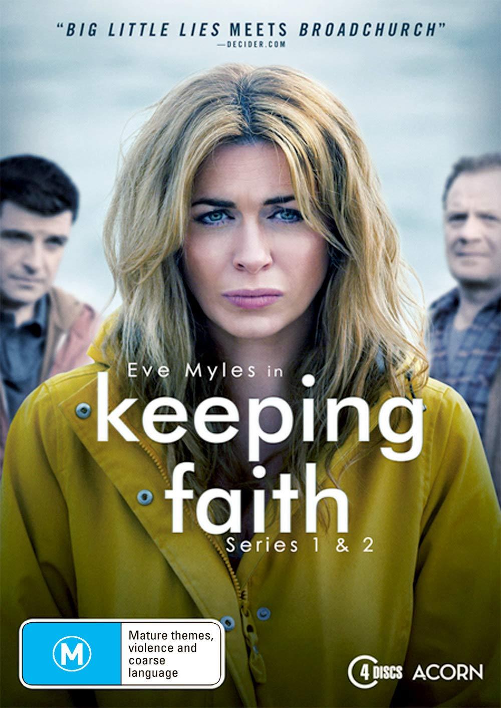 Keeping Faith: Series Fees free 1 2 Purchase Eve NON-USA Form 4 Myles Discs