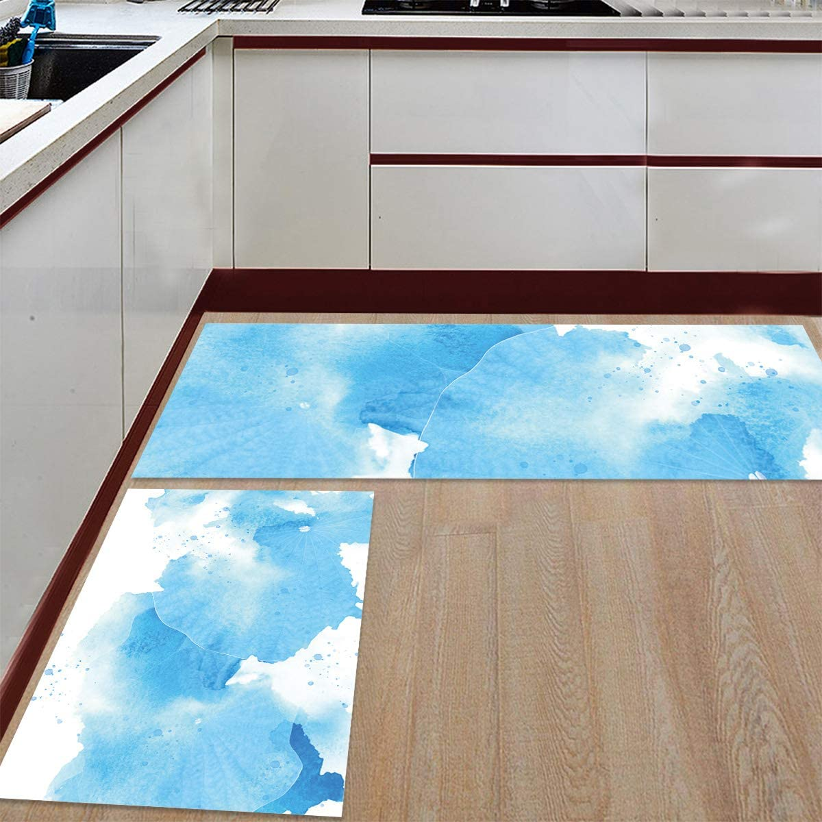 Womenfocus Kitchen Mat Bombing new work Set Anti-WearNon-Slip Rug Sale SALE% OFF 2 Floor Pi