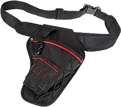 Taille tool riem gereedschap tas boor holster, multifunctionele elektrische tool pouch tas met taille riem voor moersleute...