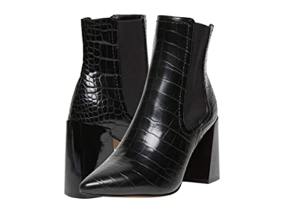 STEVEN NEW YORK Nico (Black Croc) Women