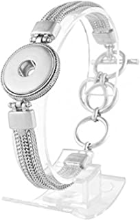 Best bracelets with snap on charms Reviews