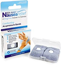 Sea-Band Drug Free Nausea Relief Wristband - A Comforting Answer to Sickness