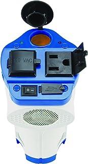 Rally 7636 inversor de Corriente ultraconfortable y Duradero con Certificado Marino, 120 W, con Puerto USB