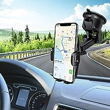 Car Phone Mount,Mpow Phone Holder,Mobile Phone Car Cradles,Universal Dashboard/Windshield Car Phone Holder,Washable Gel Pad Car Phone Mount Compatible iPhoneXR/XSMax/X/8,Galaxy S10/S9/S8/S7,Google,etc