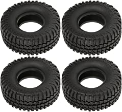Boliduo 4PCS 1/10 RC Car Tires, Rubber Tyre for 1/10 Axial SCX10 D90 D110 RC Rock Crawler 1.9 Inch Wheels