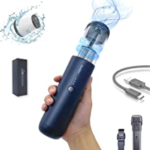 Mars Forest Portable Car Vacuum Cleaner Handheld Cordless, 4200PA Strong Suction, USB Type-C Charging Vacuum for Home/Offi...