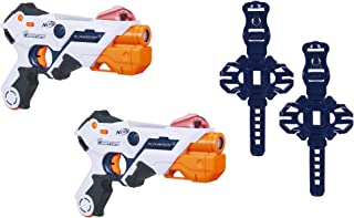 Best AlphaPoint Nerf Laser Ops Pro Toy Blasters - Includes 2 Blasters & 2 Armbands - Light & Sound FX - Health & Ammo Indicators - for Kids, Teens & Adults Review