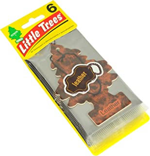 Little Trees Car Air Freshener 6-Pack (Leather)