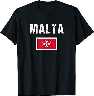 Maltese Cross T-shirt Malta Flag Shirt Men/Women/Youth/Kids