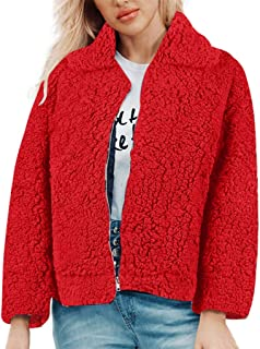 LOVESOO Womens Long Sleeve Solid Open Front Hooded Cardigans Jacket Coats Outwear with Pocket