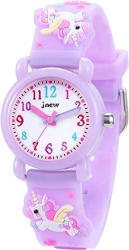 Relojes analógicos para niños Deportes para niños Reloj de Juguete de Dibujos Animados Lindo a Prueba de Agua 3D, ens...