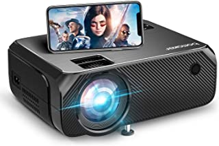 Wifi Mini Projector, BOMAKER Portable Projector, Outdoor Projector for Movies, 6000 Lux, Full HD 1080P Supported , Wireles...