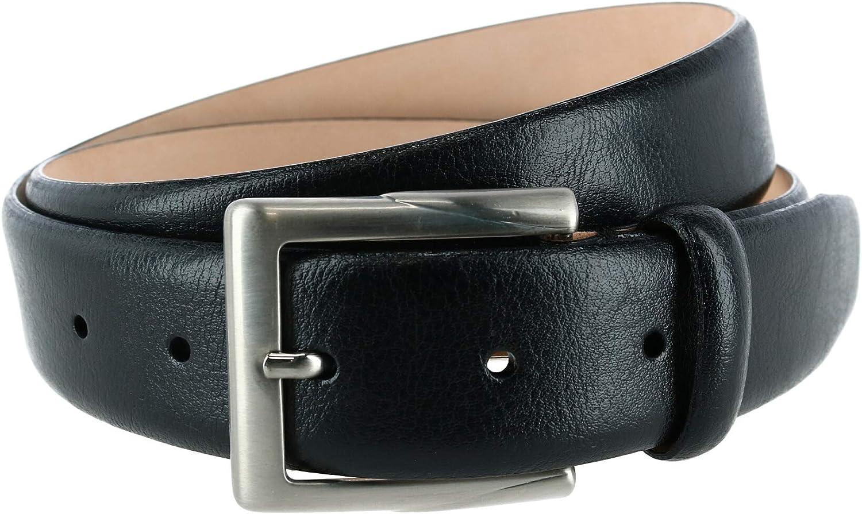Trafalgar Men's Rafferty 35mm Italian Leather Dress Belt