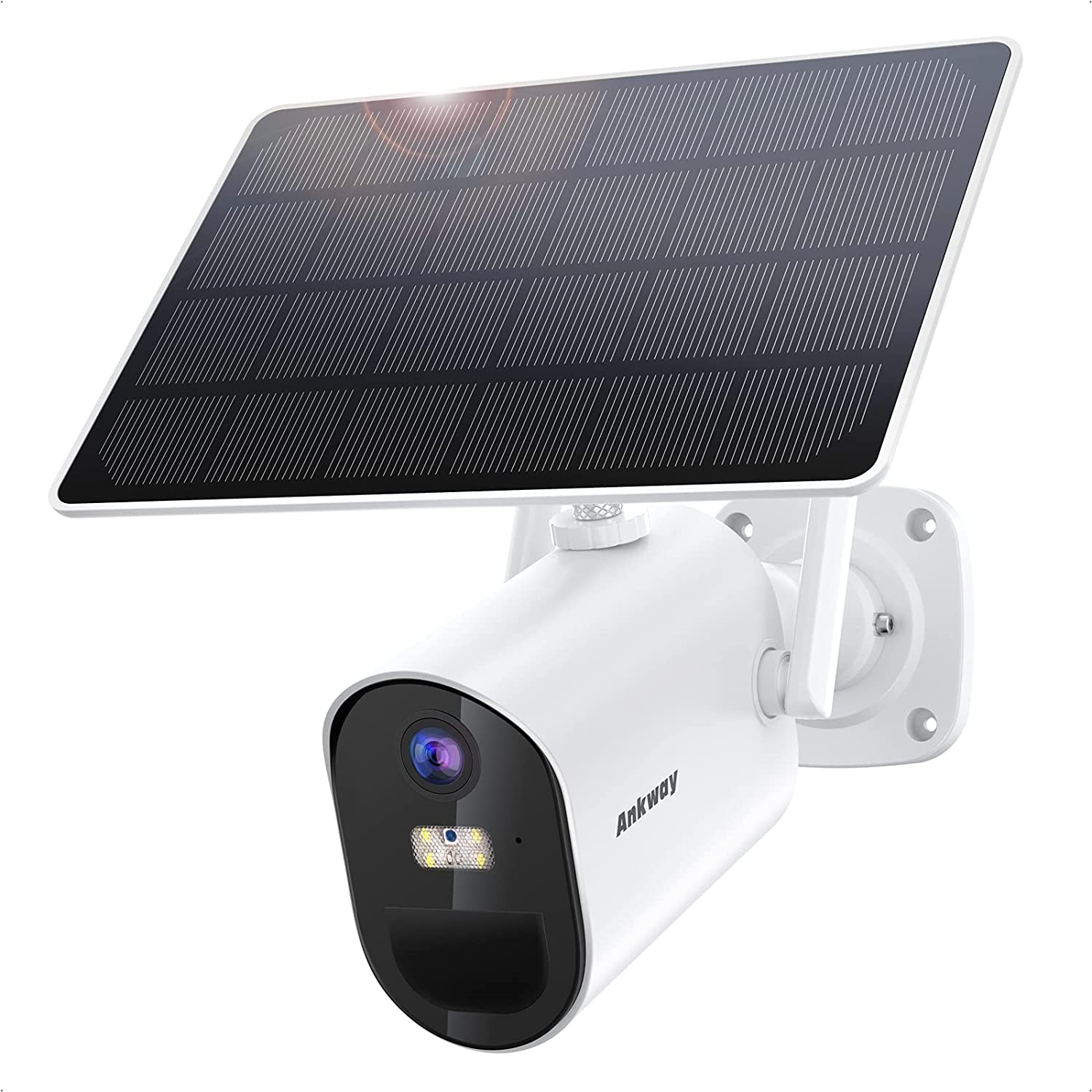 low-pricing Solar Security Camera Los Angeles Mall Outdoor Ankway Powered Surveillance