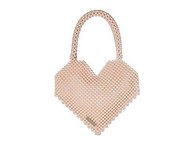 Loeffler Randall Maria Beaded Heart Tote (Blush Pearl) Tote Handbags