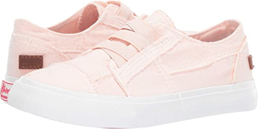 Sweet Pink Color Washed Canvas