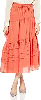 [ミラオーウェン] 斜めティアードギャザースカート 09WFS212018 レディース