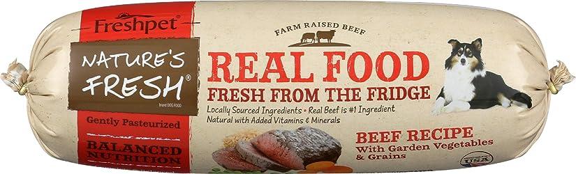 Freshpet, Dog Food Beef Garden Vegetables Grains, 24 Ounce