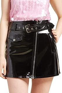 Best leather zip mini skirt Reviews