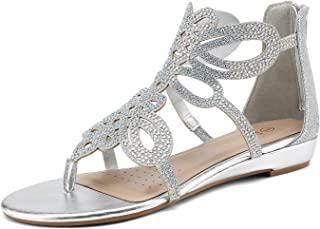 silver rhinestone wedding shoes