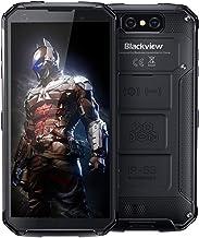 Blackview BV9500 Plus (2020) Rugged Phones Unlocked, 10000mAh Battery Helio P70 Wireless Charging, IP68 Waterproof Cell Phones 5.7 inch Android 9.0 4GB+64GB ROM 16MP+13MP Global Version Phones, NFC
