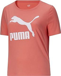 PUMA Women's Plus Size Classics Logo Tee