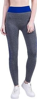 BOZEVON Women's Leggings,Plus Size High Waist Yoga Pants Running Tights for Gym & Workout