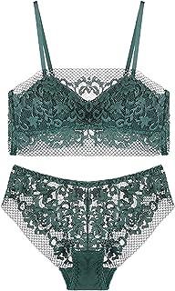 طقم لانجري للنساء ملابس داخلية دانتيل للنساء ملابس داخلية مجموعة ملابس داخلية