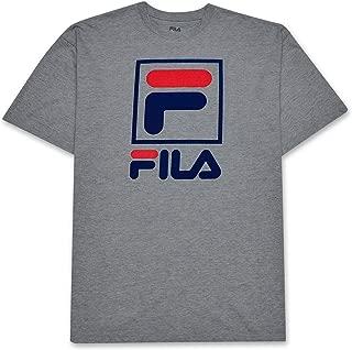 Big and Tall Mens Stacked Logo Cotton T Shirt