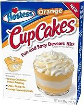 product image for Hostess Orange Cupcakes Dessert Kit, 7.47 OZ, 6 CT (Orange CupCakes, Pack - 1)