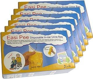 Easi Pee Disposable Urine Bags (6- 2packs)