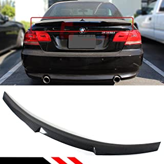 Cuztom Tuning Fits for 2007-2013 BMW E93 335i 328i M3 2 Door Convertible Carbon Fiber Trunk Lid Spoiler Wing - M4 Style