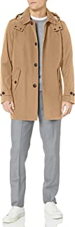 Men's Hooded Rain Trench Jacket