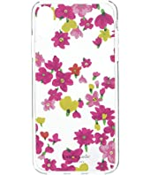Kate Spade New York - Jeweled Marker Floral Phone Case for iPhone X Plus